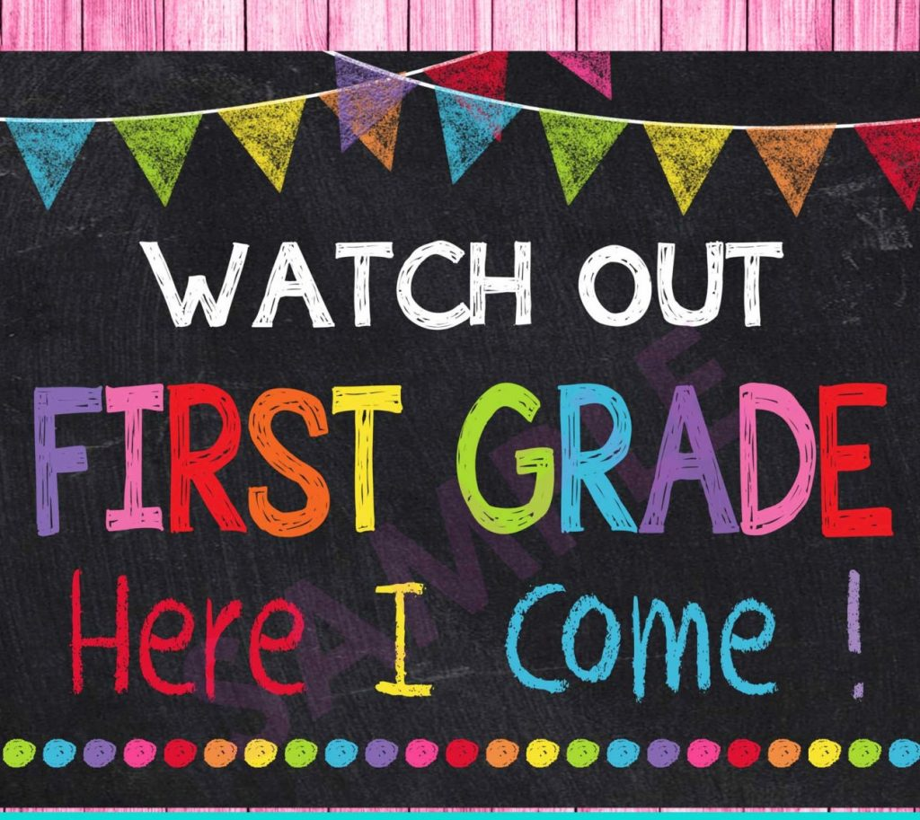 First Grade WELCOME TO OUR 2019-2020